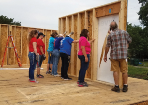 Women's Build for Habitat Humanity