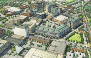 Rendering of possible changes to downtown Hammond