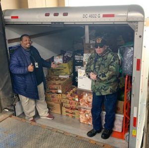 Horseshoe Food donation