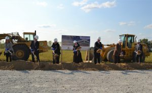 Franciscan Crown Point groundbreaking