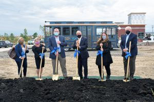 Centier Bank groundbreaking