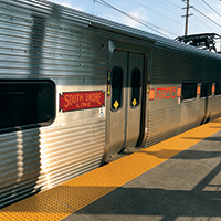 South Shore Line train