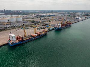 Ports of Indiana Burns Harbor