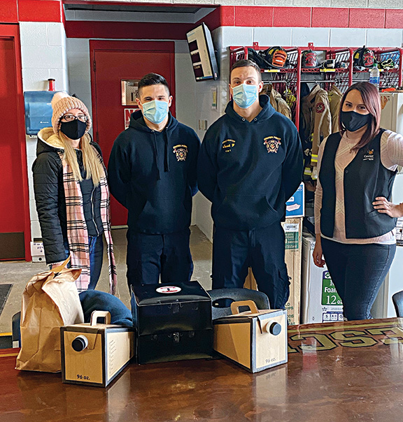 Centier Bank helps during pandemic