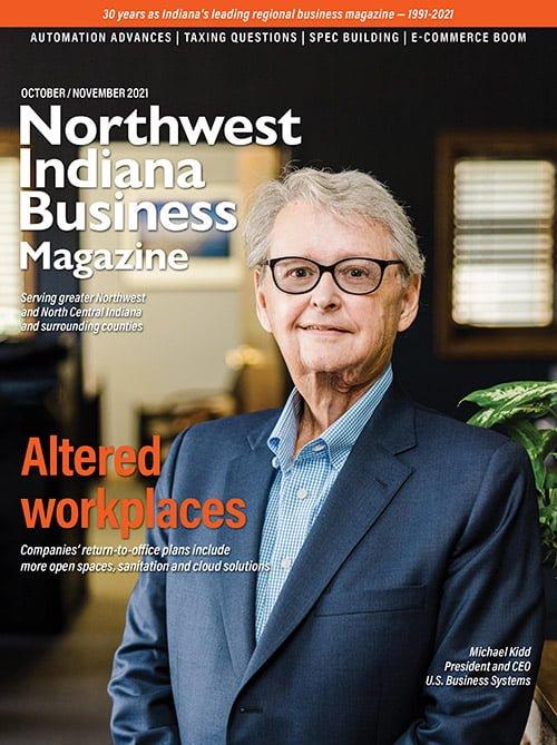 October-November 2021 issue of Northwest Indiana Business Magazine