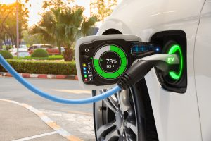 Electric vehicle changing