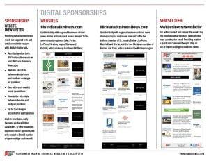 2022 Northwest Indiana Business Magazine media kit digital